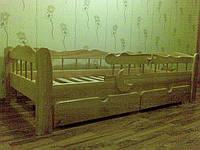 Кровать подростковая Зюзюн со съемным защитным бортом