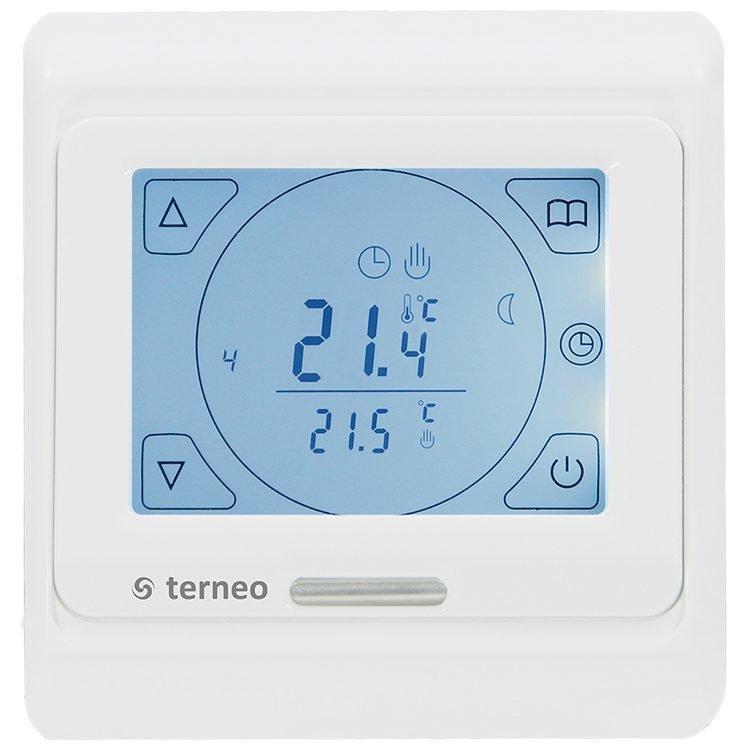 Терморегулятор terneo sen (программируемый) без датчика температуры пола белый