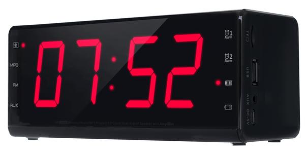 Портативная колонка - Радио часы ERGO YH-12