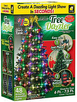 Гирлянда на елку Tree Dazzler  48 интерактивных ламп + контроллер