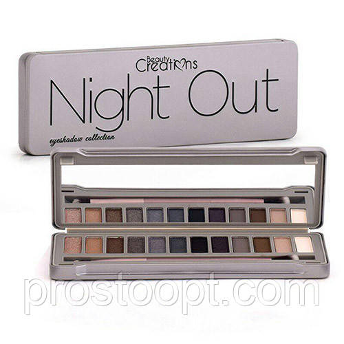 Тени для век Beauty Creations Night Out Eyeshadow Palette