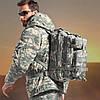 Тактический штурмовой военный рюкзак 25л Oxford 600D, фото 8