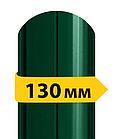 Штакетник металлический /с глянцевым полимерным покрытием/ односторонний 0.4 мм