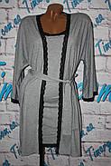 Комплект халат и сорочка, фото 5