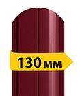 Штакетник металлический /с глянцевым полимерным покрытием/ односторонний 0.45мм