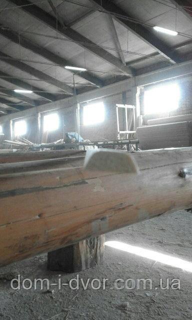 40мм*7*2000-3000мм Деревянный нащельник гладкий целный