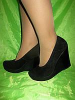 Туфли на платформе натуральная замша, фото 1