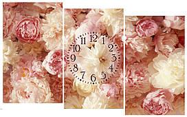 """Часы на стену модульные """"Букет роз"""" i 13"""