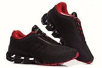 Мужские кроссовки  Adidas Porsche Design Sport P5000 черно-красные сетка