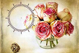 """Часы настенные """"i 14"""", 30х40 для кухни, гостиной, детской, спальни. Подарок"""