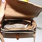 Идеальная кросс-боди с комплектом из двух ремешков Ідеальна бежева крос-боді з коплектом з двох ремінців, фото 5