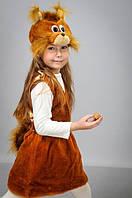 Карнавальный костюм Белка,Белочка мех,велюр, фото 1