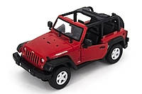 Машинка на радиоуправлении машинка р/у 1:14 meizhi jeep wrangler (красный)