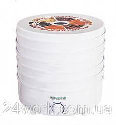 Электросушилка для овощей и фруктов GRUNHELM BY1162 на 20 л (5 ярусов)