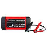 Зарядное устройство 6/12В, 4/8A, 230В, LED-индикация INTERTOOL AT-3018, фото 8