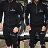 Мужской спортивный костюм  VALENTINO Размеры с м л хл ххл Ткань трехнитка на флисе, фото 4
