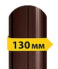 Штакетник металлический /с матовым полимерным покрытием/ односторонний 0,45мм