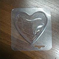Пластиковая форма для шоколада Сердце