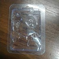 Пластиковая форма для шоколада Веселая мордочка