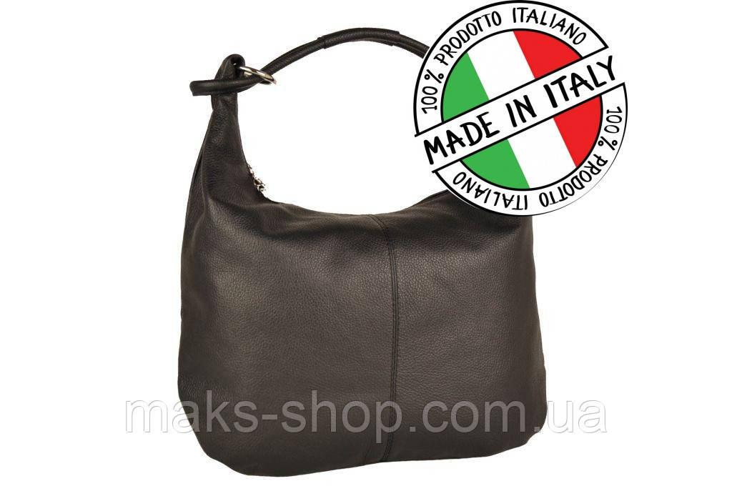 311cbeff12a1 Классическая женская кожаная сумка из Италии Toscanio 1632 Черный - Maks  Shop- надежный и перспективный