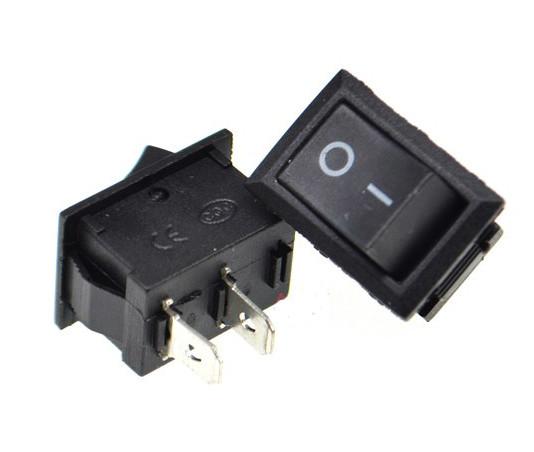 Переключатель, кнопка ВКЛ/ВЫКЛ AC 250В 3А 10х15мм