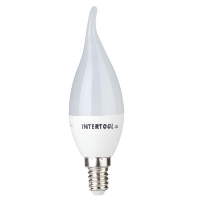 Светодиодная лампа LED 3Вт, E14, 220В, INTERTOOL LL-0161