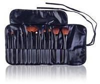 Подарочный набор кистей для макияжа Professional 12 - BLACK