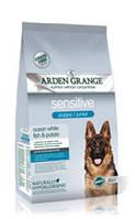 Arden Grange Puppy/Junior Sensitive Ocean White Fish & Potato - Корм для цуценят з почуттів. травленням 2 кг