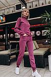 Женский вязаный костюм: свитер и штаны (2 цвета), фото 2