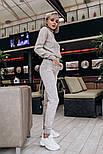 Женский вязаный костюм: свитер и штаны (2 цвета), фото 4