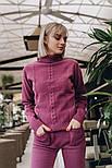 Женский вязаный костюм: свитер и штаны (2 цвета), фото 5