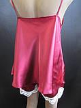 Атласные пижамы с гипюром., фото 6