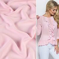 Креп стрейч блідо-рожевий ш.150 (11412.007)