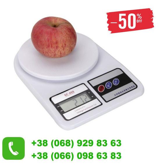 Весы кухонные SF-400 до 7 кг электронные