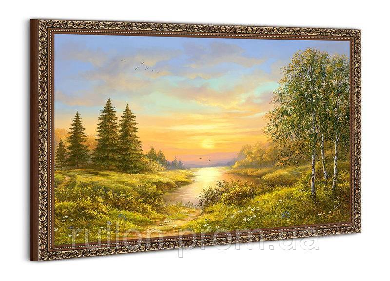 "Картина YS-Art BA006B ""Рассвет в заливе"" 50x70"