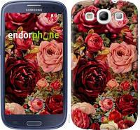 """Чехол на Samsung Galaxy S3 i9300 Цветущие розы """"2701c-11-6129"""""""