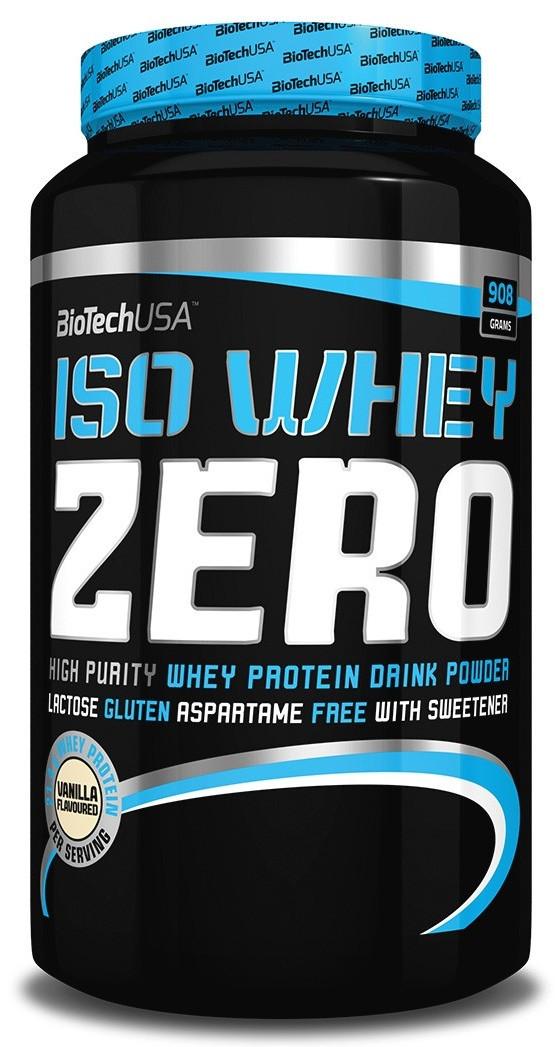 Сывороточный изолят BioTech - Iso Whey Zero (908 грамм) chocolate/шоколад