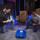Бейблейд Вибух арена синя з системою додаткових доріг Beyblade Burst Turbo Slingshock Beystadium Hasbro, фото 5