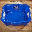 Бейблейд Вибух арена синя з системою додаткових доріг Beyblade Burst Turbo Slingshock Beystadium Hasbro, фото 3