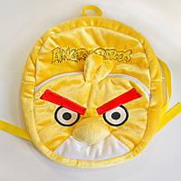 Мягкая игрушка Рюкзак птица Чак желтая Angry birds арт.596