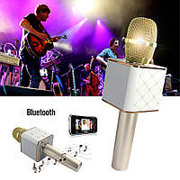 Бездротовий мікрофон караоке Bluetooth Q9 MS USB + чохол, фото 1