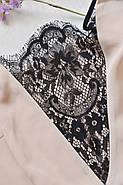 Сексуальный шифоновый пеньюар с кружевом, фото 2