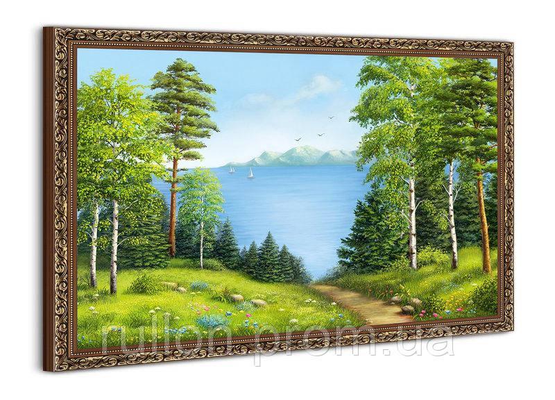 """Картина YS-Art BA016B """"Тропа через лес"""" 50x70"""