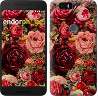 """Чехол на Huawei Nexus 6P Цветущие розы """"2701c-148-6129"""""""