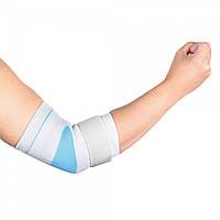 Бандаж для ліктьового суглоба еластичний з силіконовою вставкою Wellcare 31011