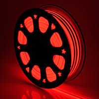 Светодиодный гибкий неон 220В 2835 120 LED Neon Flex IP65 Красный, фото 1