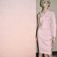 Фукра розовая с розовым орнаментом (11660.005)