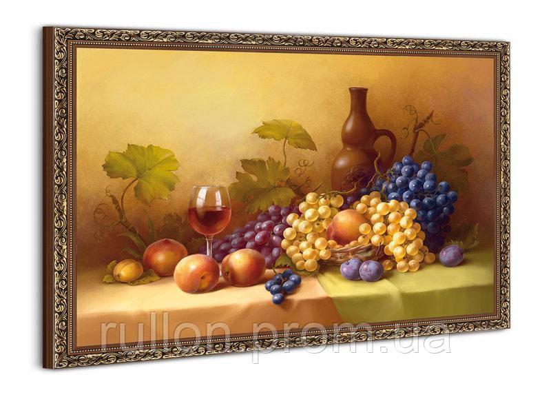 """Картина YS-Art BA072B """"Виноград и вино"""" 50x70"""