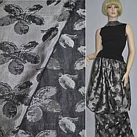 Фукра темно-серая с крупными цветами (11665.004)