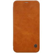 """Кожаный чехол (книжка) Nillkin Qin Series для Apple iPhone X (5.8"""") / XS (5.8""""), фото 2"""